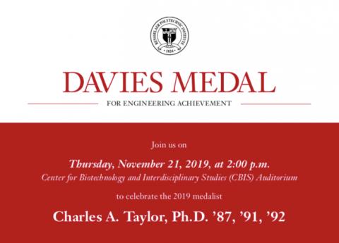 Davies Medal 2019