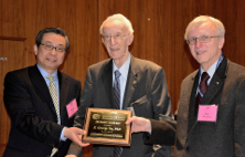 Professor X. George Xu awarded with the Randall S. Caswell Award for Distinguished Achievements in the Field of Ionizing Radiation Measurements and Standards